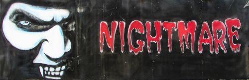 nightmare scary horror