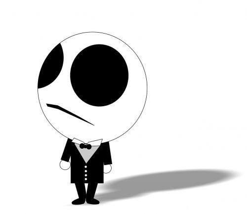 nightmare cartoon skull