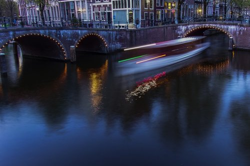 nights  water  reflection