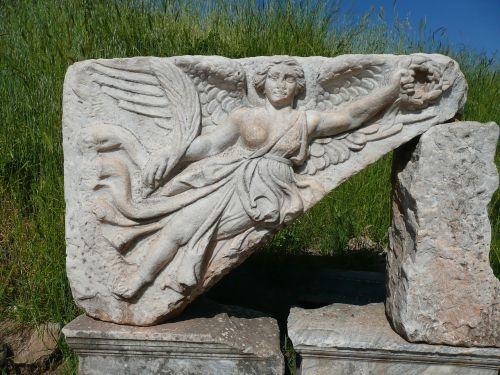 nike goddess of victory city of ephesus