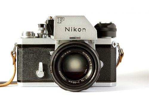 nikon camera analog
