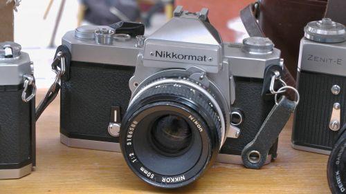 Nikon Nikkormat 35mm Camera