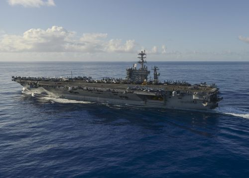 nimitz aircraft carrier pacific ocean