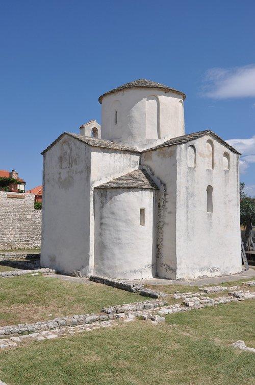 nin  croatia  church