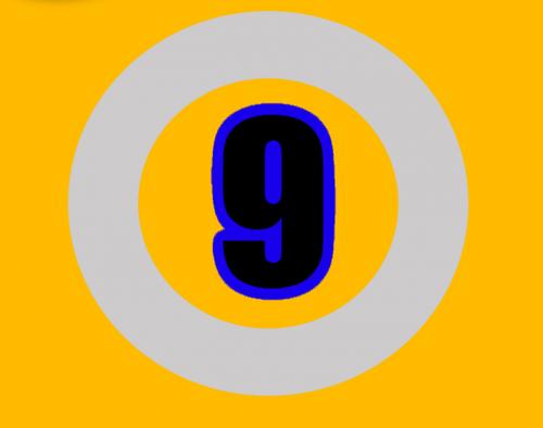 nine number numbers