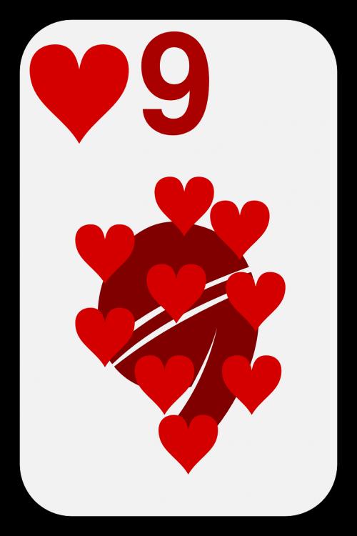nine cards game