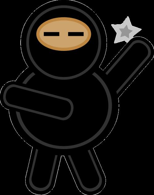 ninja black fat