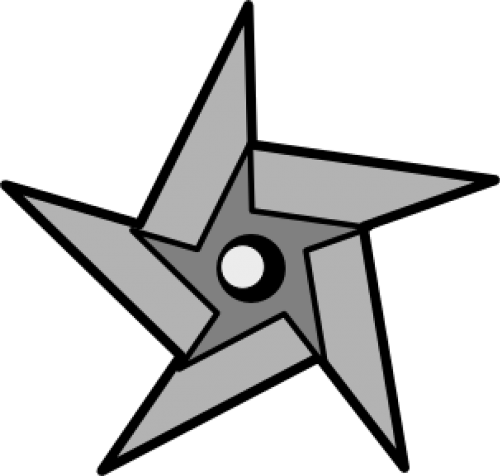 ninja star weapon