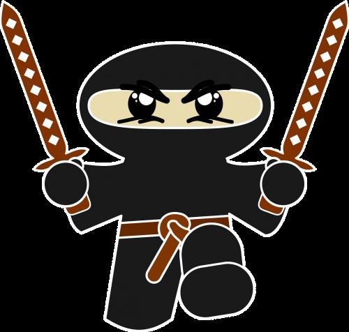 ninja comic character