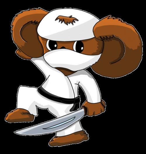 ninja cheburashka sword
