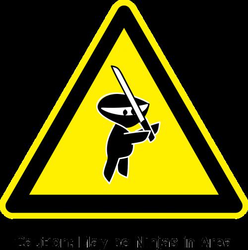 ninja signs symbols