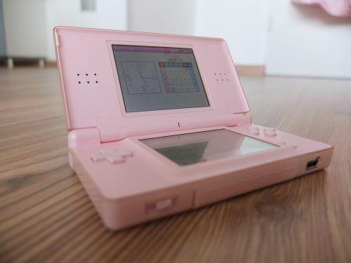 Nintendo,elektronika,žaidimai,elektroninis,rožinis,prietaisas,žaidimas,technologija,žaisti,nešiojamas