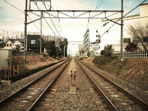 nishi kokubunji railroad crossing train