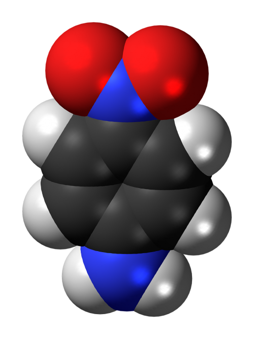 nitroaniline chemistry atoms