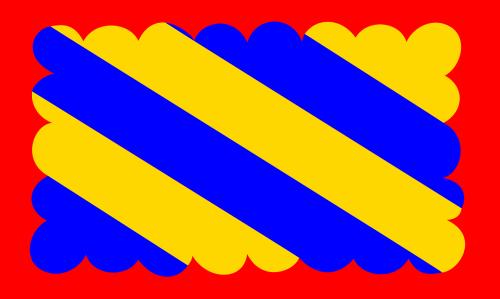 nivernais province flag france