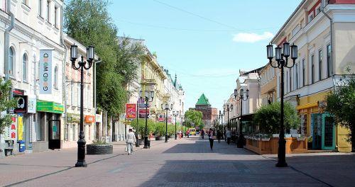 nizhniy novgorod,main street,beautiful streets,beautiful view,vacation,city