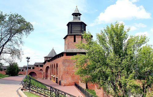 nizhniy novgorod the kremlin tower