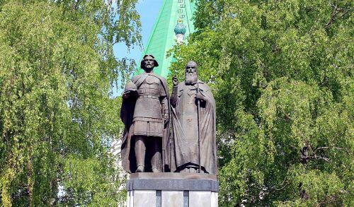 nizhniy novgorod the kremlin monument