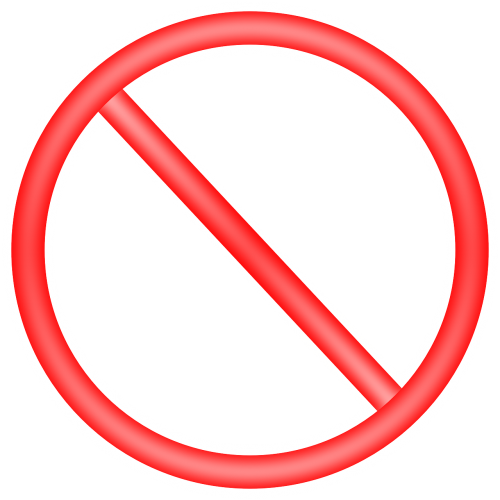 no warning ban
