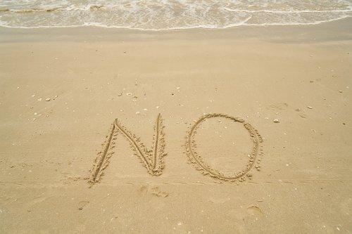 no  beach  sand