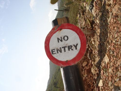 no access board forbidden