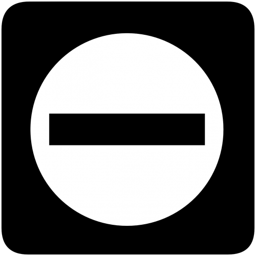 no entry access prohibited
