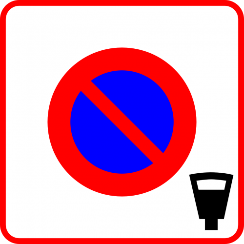 no parking traffic sign sign