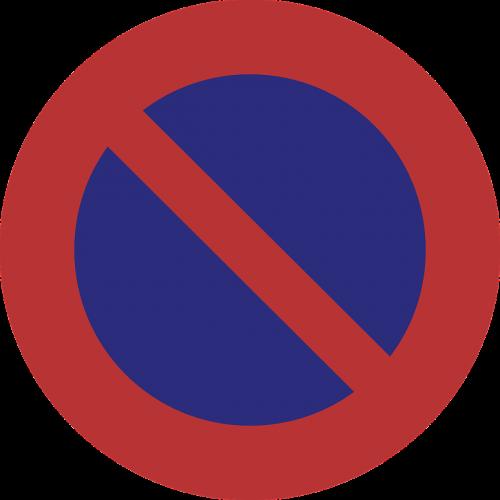 no parking restriction prohibition