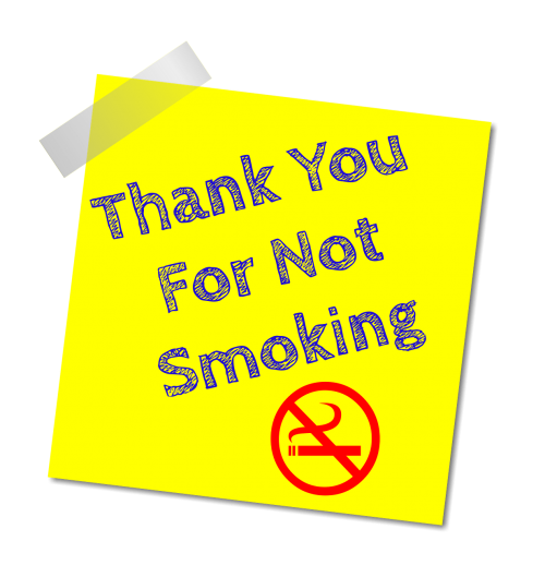 no smoking thanks stop smoking