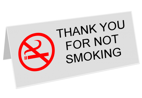 no-smoking stop smoking sign