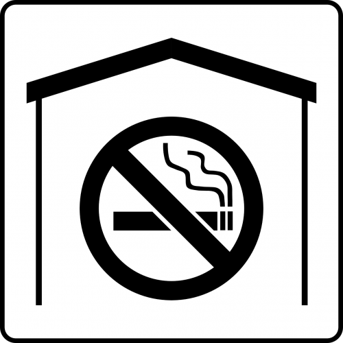no smoking banned smoking