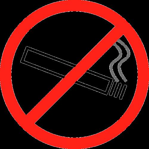 no smoking forbidden cigarette