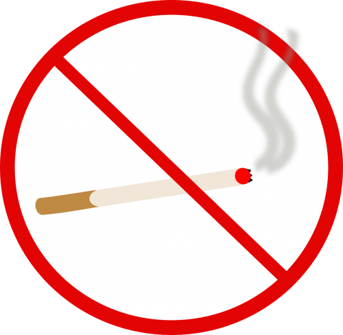 no smoking no cigarette