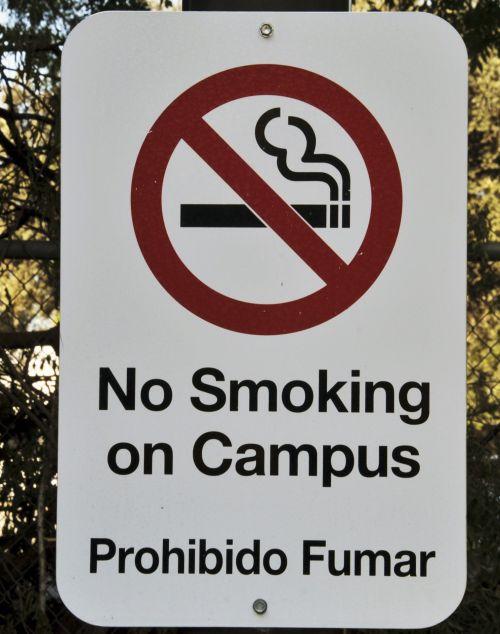 & nbsp, rūkymas & nbsp, ženklas, nera rūkymas, rūkymas, cigaretės, sveikata, Campus, įspėjimas, ne rūkyti ženklas