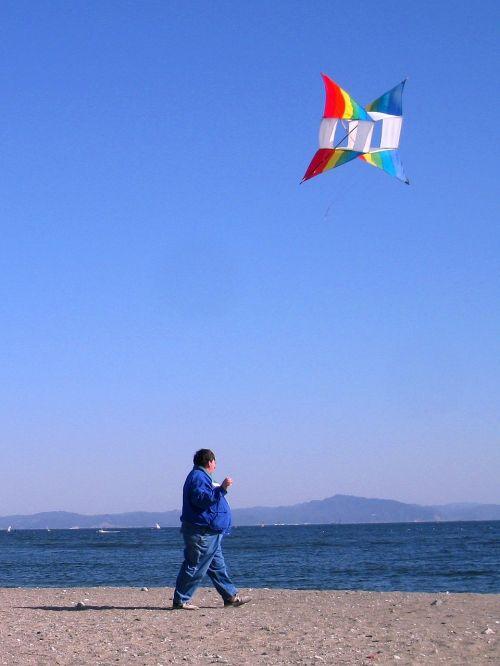 nobi beach kite wind
