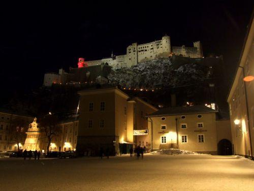 Night Salzburg