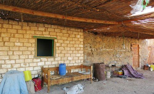 nomadic village desert clutter