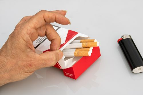 non smoking cigarettes cigarette box