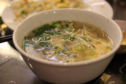 rice noodles vietnamese noodle soup noodles