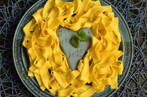 noodles tagliatelle pasta