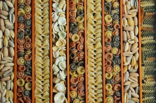 noodles pasta colorful pasta