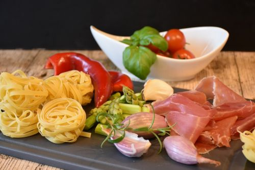 noodles pasta italian
