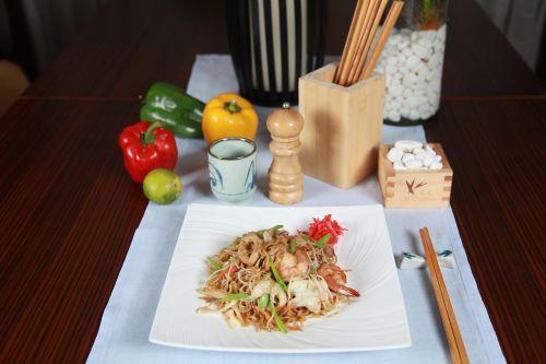 noodles thai pad