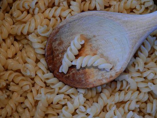 noodles spiral pasta pasta