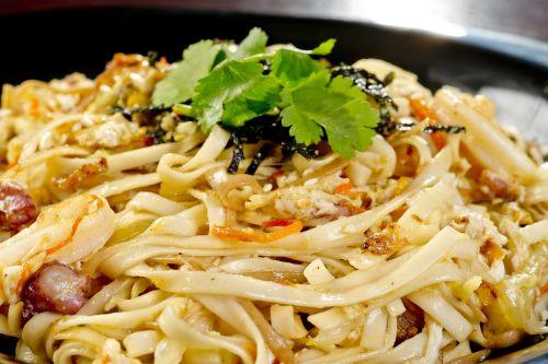 noodles seafood fry