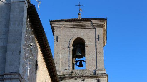 norcia san benedetto campanile