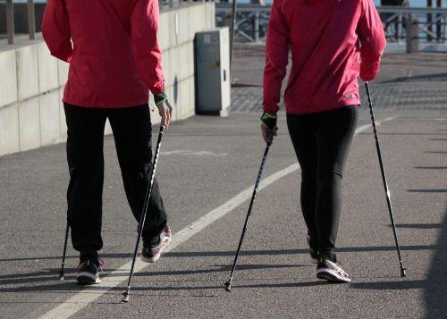 nordic walking summer fitness