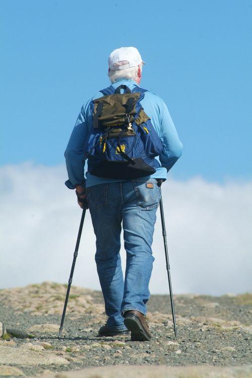nordic walking mountains tourism