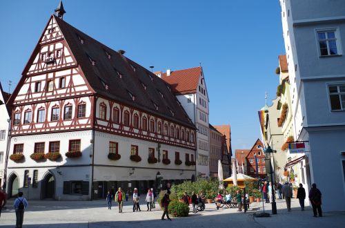 nördlingen old town truss