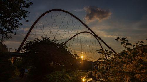 nordsternpark gelsenkirchen nordstern bridge